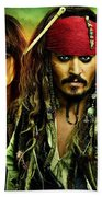 Pirates Of The Caribbean Stranger Tides Beach Towel
