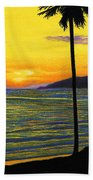 Pismo Beach California Sunset Beach Sheet