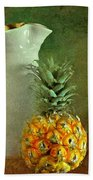 Pitcher With Pineapples Beach Towel