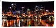 Pittsburgh Panorama Beach Towel