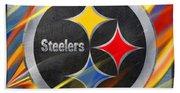Pittsburgh Steelers Football Beach Towel
