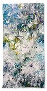 Place Where The Flowers Bloom Forever Beach Towel