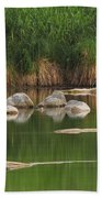 Llano River 2am-106459 Beach Towel