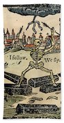 Plague Of London, 1665 Beach Towel