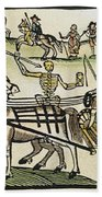 Plague Of London Beach Towel