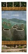 Plain Of Jars Beach Towel
