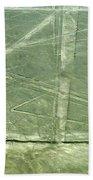 Plains Of Nazca - Spider Beach Towel