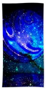 Planet Disector Reflected Beach Towel