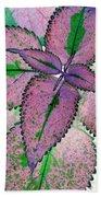 Plant Pattern - Photopower 1211 Beach Towel