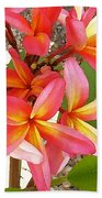 Plantation Plumeria Beach Sheet