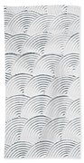 Plaster Pattern Beach Towel