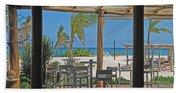 Playa Blanca Restaurant Bar Area Punta Cana Dominican Republic Beach Towel