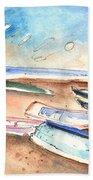 Playa Honda In Lanzarote 03 Beach Towel