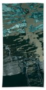 Playful Abstract Reflections Beach Towel