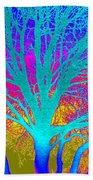Playful Colors 4 Beach Towel