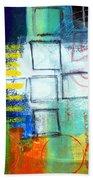 Playground Beach Towel by Linda Woods