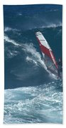 Playing With The Wind Beach Towel