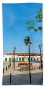 Plaza In Mompox Beach Towel