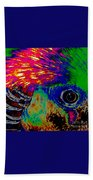 Pleasant Pheasant  Beach Towel