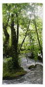 Plitvice Lakes Beach Towel