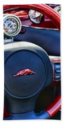 Plymouth Prowler Steering Wheel Beach Towel