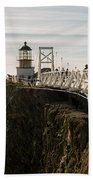 Point Bonita Lighthouse Beach Towel