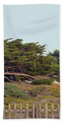Point Pinos Lighthouse Pacific Grove California Beach Towel