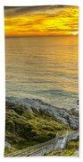 Point Reyes Lighthouse Beach Towel