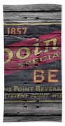 Point Special Beer Beach Towel