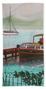 Pointe-a-pitre Martinique Across From Fort Du France Beach Towel