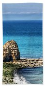 Pointe Du Hoc Beach Towel