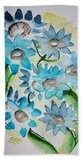 Pointy Petals Beach Towel