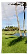Poipu Bay #18 Beach Towel