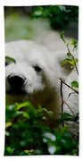Polar Bear Cub Beach Towel