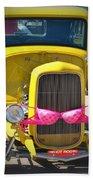 Polka Dot Bikini Beach Towel