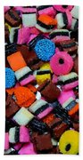 Polka Dot Colorful Candy Beach Towel