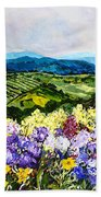 Pollinators Ravine Beach Towel