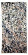 Pollock's Number 1 -- 1950 -- Lavender Mist Beach Towel