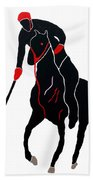 Polo Player Beach Towel