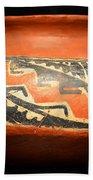 Polychrome Pottery 1100 Ad Beach Towel