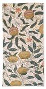 Pomegranate Design For Wallpaper Beach Towel