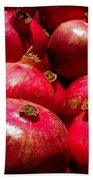 Pomegranates Beach Towel