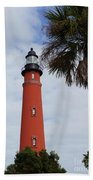 Ponce Inlet Lighthouse Beach Towel