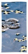 Pond Dweller Beach Towel