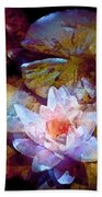Pond Lily 26 Beach Towel