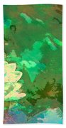 Pond Lily 31 Beach Towel