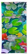 Pond Lily 5 Beach Towel