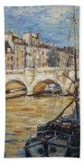 Pont Neuf Paris Beach Towel