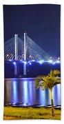Ponte Estaiada De Aracaju - Construtor Joao Alves Beach Towel