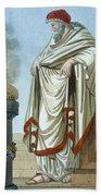 Pontifex Maximus, Illustration Beach Towel